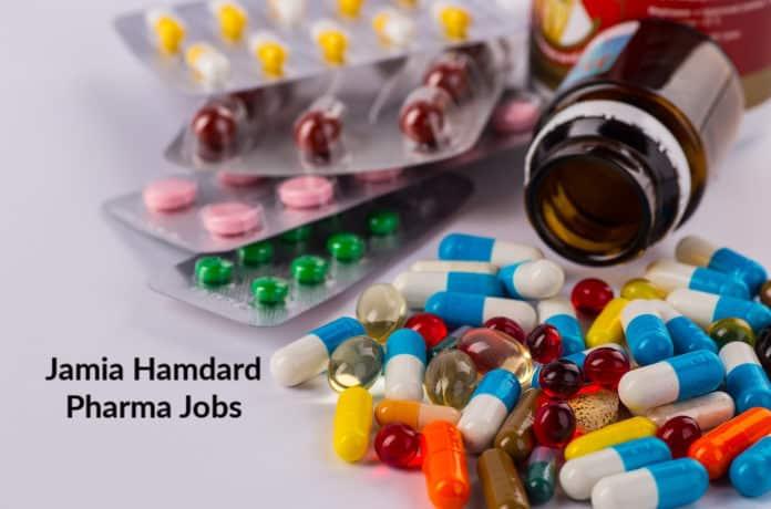 Jamia Hamdard JRF Jobs – M Pharma Candidates Apply