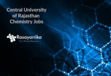 Junior Research Fellow-Chemistry @ Central University of Rajasthan