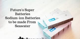 Super Batteries to be made From Seawater Future's Na-ion Batteries