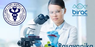 AIIMS-BIRAC PhD Chemistry Recruitment - Research Associate Salary 47,000/- pm +24%HRA