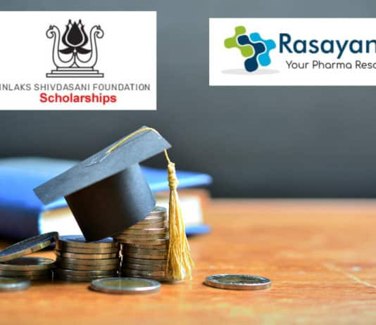 Inlaks Scholarships Announced