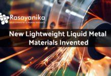 Lightweight Liquid Metal Materials