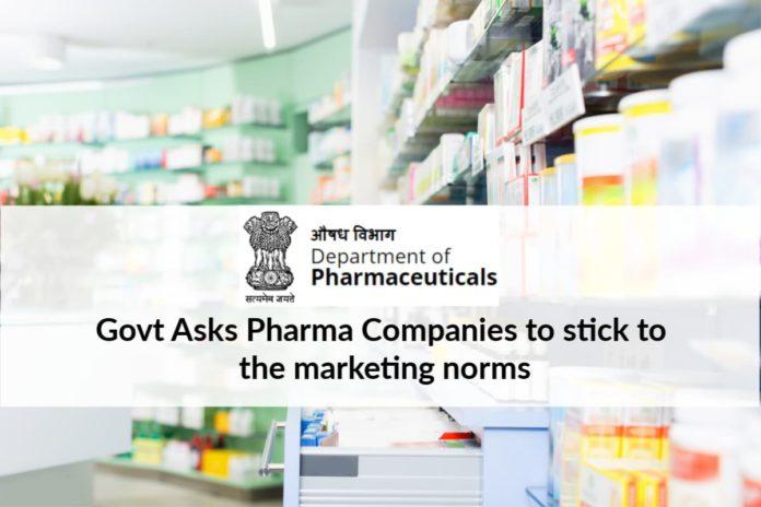 Pharma Companies must adhere UCPMP