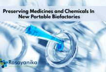 Preserving Chemicals in Portable Biofactories
