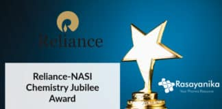Reliance-NASI Chemistry Jubilee Award 2020 - Application Details