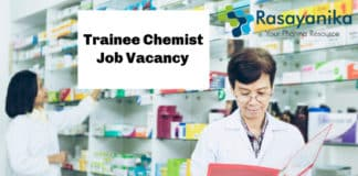Trainee Chemist Job Vacancy @ Jubilant Generics Limited