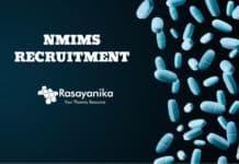 NMIMS Pharma Recruitment 2020