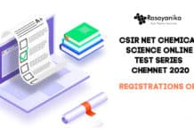 CSIR Chemical Science