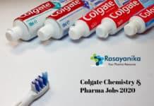 Colgate Associate Scientist Recruitment 2020 – Chemistry & Pharma