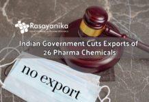 Export of Pharma Chemicals Cut