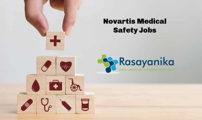 Novartis Medical Safety Jobs - Pharma Candidates Apply