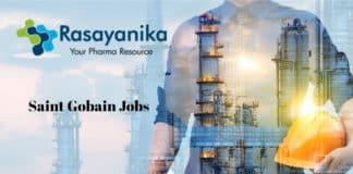 Chemistry Engineer Post @ Saint Gobain Research India Pvt Ltd