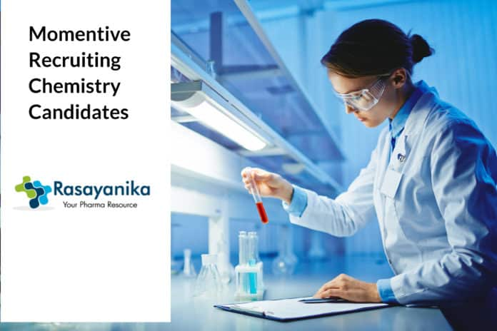 Momentive Recruiting Chemistry Candidates - Application Details