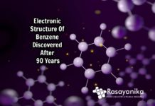 basic electronic structure of benzene