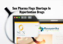 drug shortage due to coronavirus