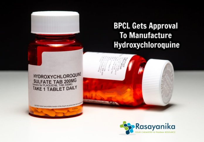 BCPL to manufacture Hydroxychloroquine