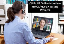 CSIR- IIP Interview For COVID-19 Testing Projects – MSc Chemistry Candidates Apply