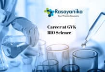 Career at GVK BIO - Research Associate Post Vacant Chemistry Candidates