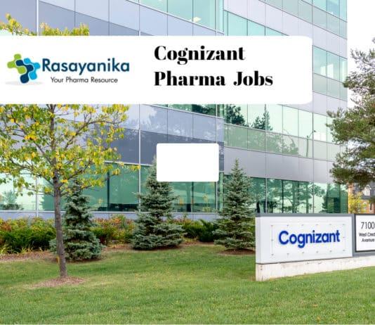 Cognizant Pharma Candidates Recruitment 2020 - Team Lead