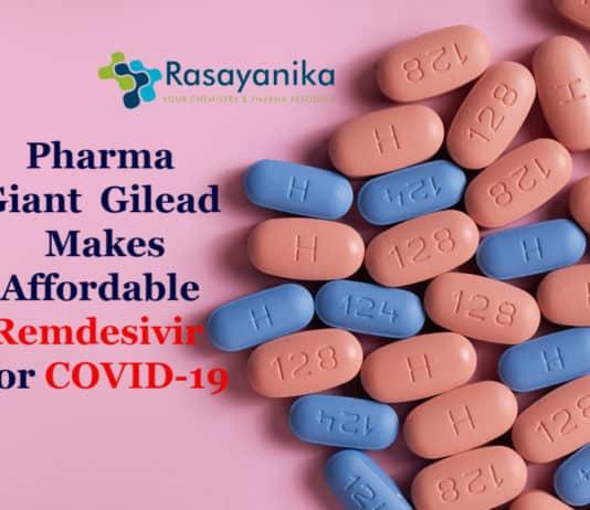 Gilead Makes Remdesivir Affordable