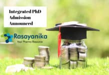 Integrated PhD Admission Announced August 2020 - IISER Mohali