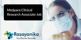 Medpace Clinical Research Associate Job Vacancy 2020