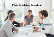 Pfizer Team Lead Regulatory Vacancy - Chemistry Pharma Apply