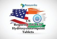 US Request India For Hydroxychloroquine