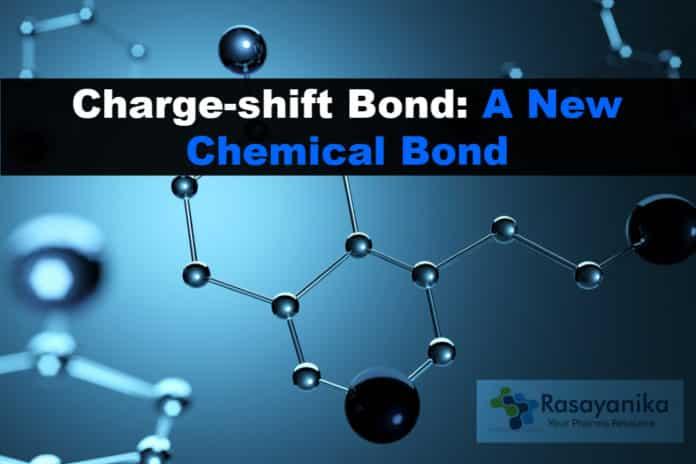 Charge shift bond