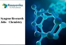 Syngene Research Jobs - Polymer Chemistry/Organic Chemistry