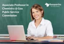 Associate Professor in Chemistry @ Goa Public Service Commission