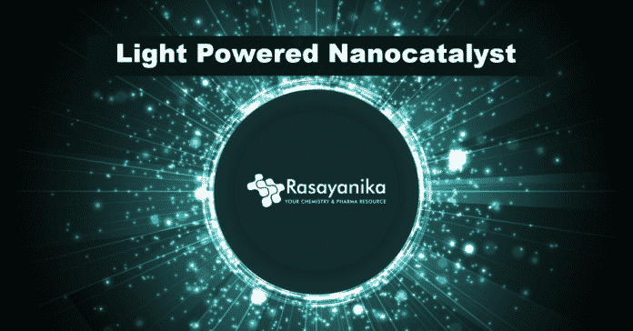 Light powered nanocatalyst