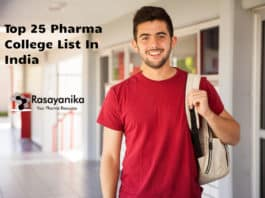 Top 25 Pharma College List In India By Govt NIRF-MHRD Ranking 2020