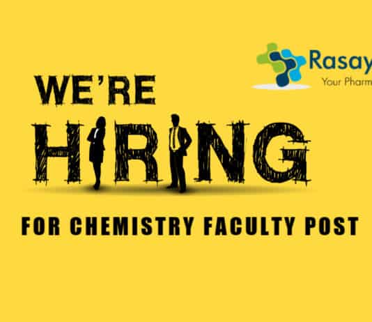 Chemistry Faculty Job Opening