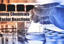 Faster Reactions By Spinning Chemicals