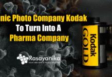 Kodak is turning into a pharma company