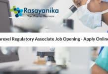 Parexel Regulatory Associate Job Opening - Apply Online