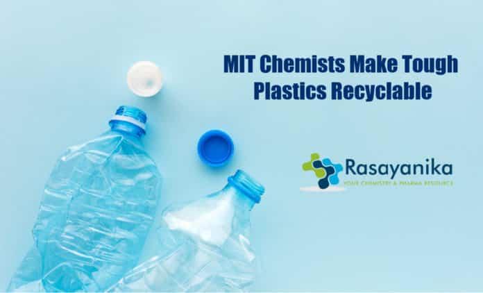 Scientists make tough plastics recyclable