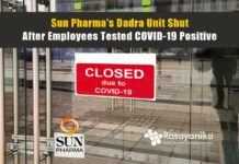 Sun Pharma's Dadra Unit Shut