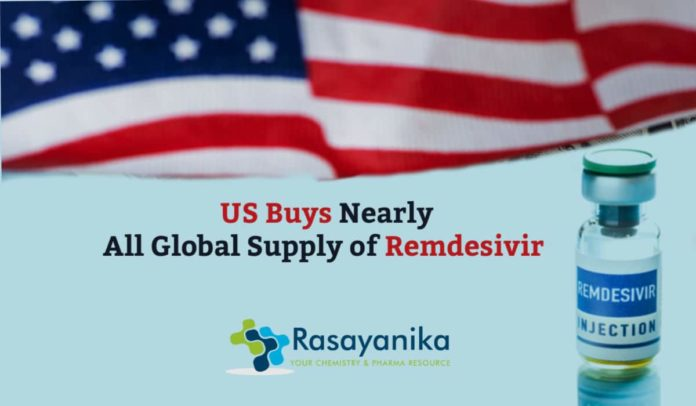 The US Buys Nearly All Of Remdesivir