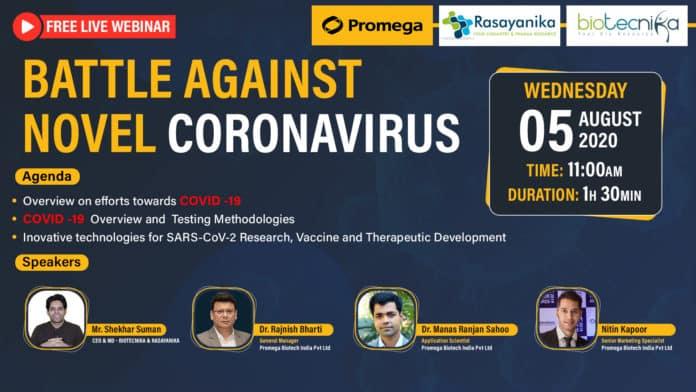 Free Webinar On Battle With Coronavirus