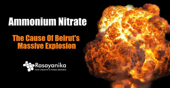 A look into the chemical that exploded in Beirut