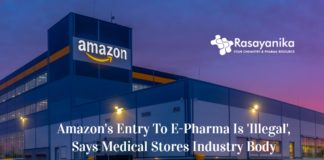 Amazon's Entry To E-pharmacy Receive Objection From AIOCD