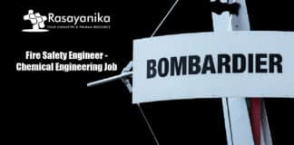 Bombardier Fire Safety Engineer - Chemical Engineering Job