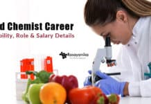 Food Chemist Career
