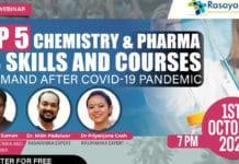 Chemistry & Pharma Job Skills