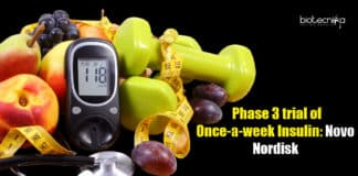 Phase-3 Trial of Once-a-week Insulin, Novo Nordisk