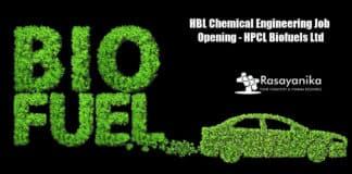 HBL Chemical Engineering Job Opening - HPCL Biofuels Ltd