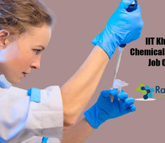 IIT Kharagpur Chemical Engineering Job Opening - Apply Online