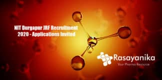 NIT Durgapur JRF Recruitment 2020 - Applications Invited